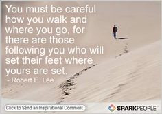 Awesome Motivational Quote by Robert E. Lee on ethical leadership.