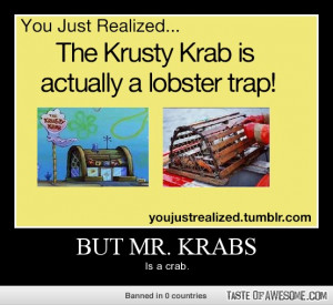 mr krabs is in there quote