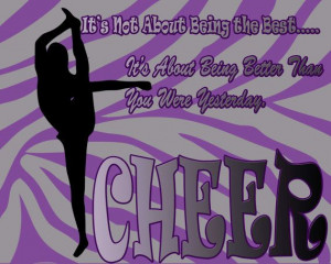 Cheer quote Print Print can be personalized by PurposelyDesigned, $20 ...