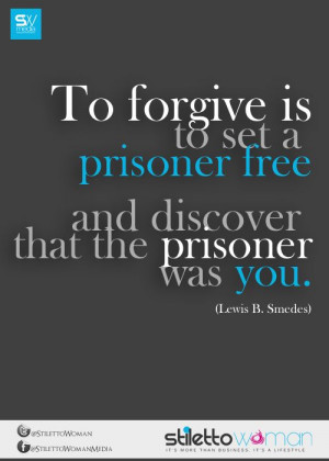 ... free and discover that the prisoner was you.