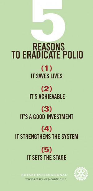 reasons to eradicate polio