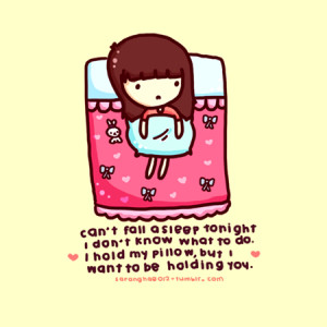 Cute Sleeping Quotes