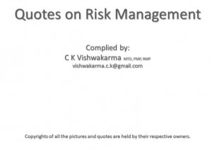 Risk Management Quotes And Sayings ~ Risk management quotes