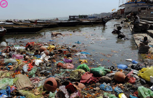 ganges pollution 1 300x192 Top 10 Most Polluted Rivers in the World