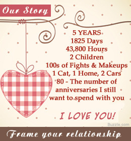 you to choose the best anniversary gift for your husband