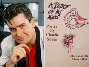 Charlie Sheen's book of poetry: Putting the crazy to verse