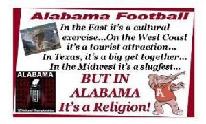 Alabama Football Image