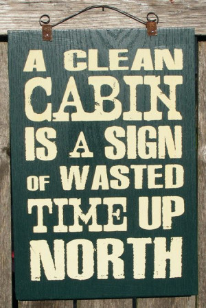 Cabin+Sign+by+ZietlowsCustomSigns+on+Etsy,+$25.00