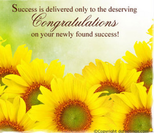 Congrats and best wishes for a promising future!