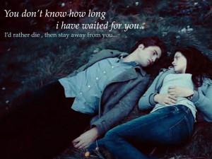 Twilight Series Edward & Bella