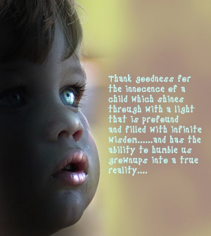 ... seem to realize that children are as intelligent as adults