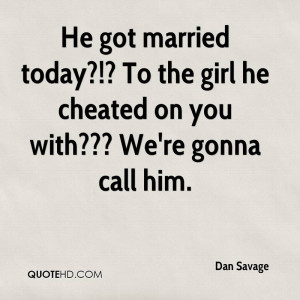 He Cheated On You Quotes