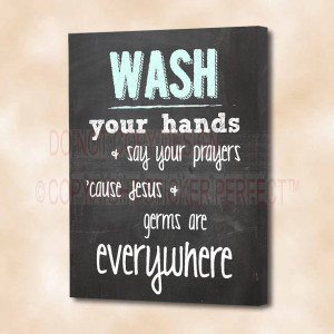 ... cute bathroom printed wall art sayings quotes pet home decor plaque