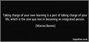 More Warren Bennis Quotes