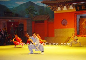 Shaolin Martial Arts Performance