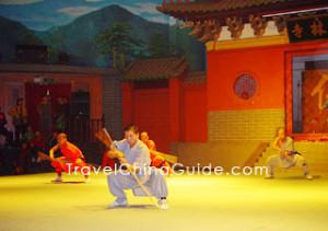 Shaolin Martial Arts Performance