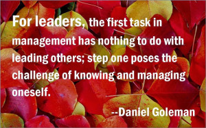 The First Task of Management, and Three Steps to Get There