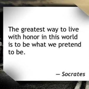Great Quote by Socrates