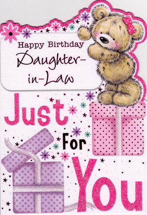 happy birthday daughter in law quotes