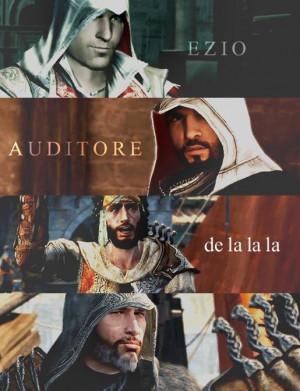 Ezio Auditore de la la la (Ezio Auditore da Firenze)