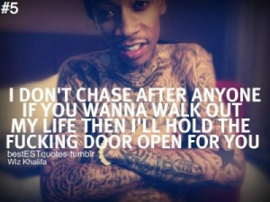 Wiz Khalifa Break Up Quotes (17)