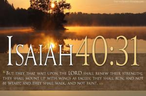 Bible Verses On Faith Isaiah 40:31 River Scripture HD Wallpaper