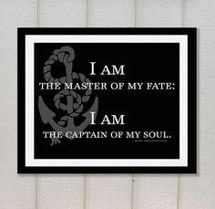 ... Inspirational Quote, Steampunk Decor, Literature Poster, Literary Art