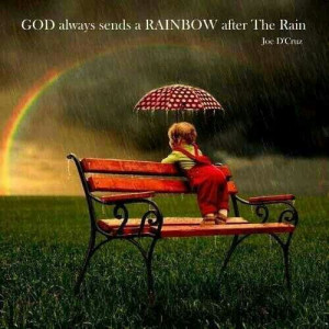 Rainbows and Rain ♡ God's Promise