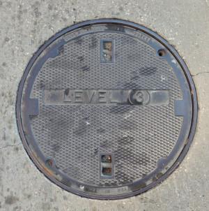 Level 3 Manhole Cover (Houston, TX)