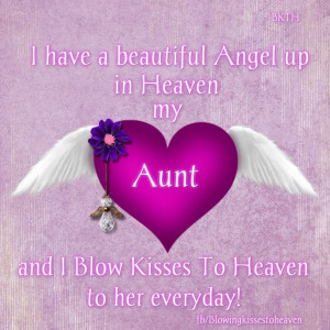 Missing my aunt