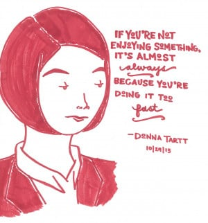 Happy Birthday, Donna Tartt, born 23 December 1963Donna Tartt: Nine ...