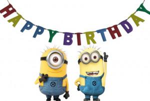 Happy Birthday Despicable Me