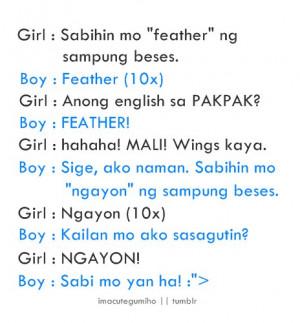 Joke Tagalog Love Quotes