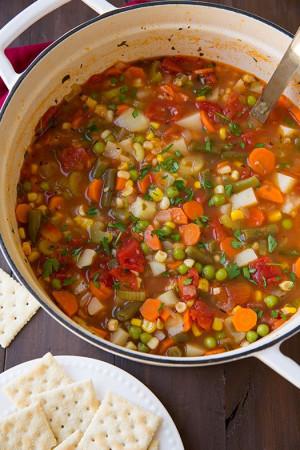 Vegetable Soup | Cooking Classy: Souper