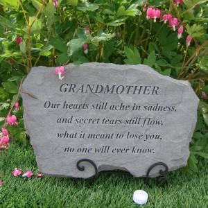 Image Result For Grandma Garden Stones