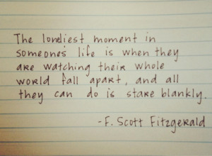 lonely quotes f scott fitzgerald the great gatsby