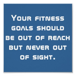 Fitness goals!