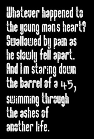 Shinedown - 45 - song lyrics, songs, music lyrics, song quotes, music ...