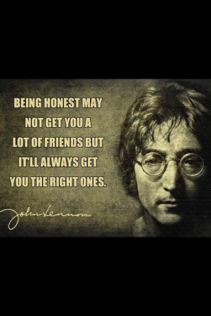 Great quote by John Lennon...
