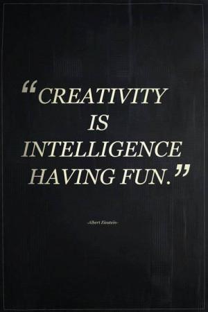 Einstein quote on creativity
