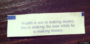 Fortune Cookie Tells Women Why They Shouldn't Worry About Making Money ...