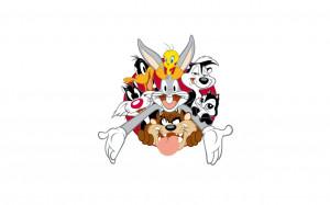 Looney Tunes characters wallpaper