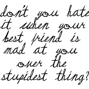 Best Friends Fighting Quotes
