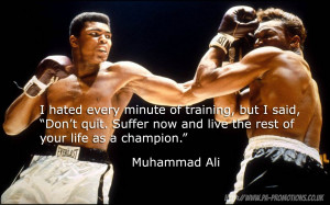 Inspirational Quotes: Muhammad Ali