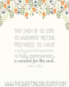 Sister Esplin on the sacrament. em & me: October 2014 Conference ...