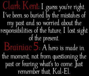 Homecoming. Smallville quotes
