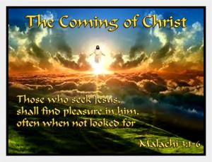 Malachi The Ing Christ
