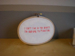 Supernatural Quote Cross Stitch Kevin by EternallyMessy on Etsy, $7.50
