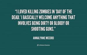 Zombie Killing Quotes