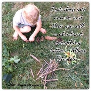 Quotes to inspire a love of nature and play - How Wee Learn
